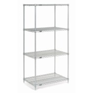 Wire Shelving Unit, 74