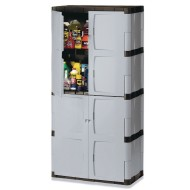 Rubbermaid® Plastic Storage Cabinet