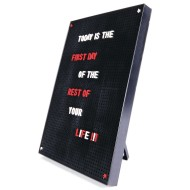 Kikkerland® Peg A Message Board, Large