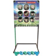 2-1 Football and Baseball Toss Game