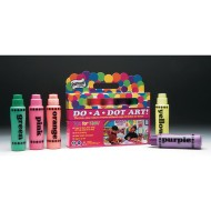 Do-A-Dot™ Art Fluorescent Markers (Set of 5)