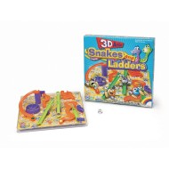 3-D Snakes and Ladders Game