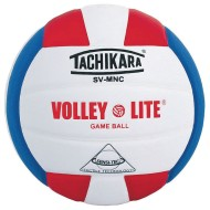Tachikara® SV-MNC Volley Lite Volleyball, Royal Blue/White