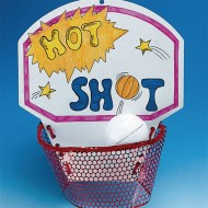 Hot Shot Basketball Craft Kit (Pack of 50)