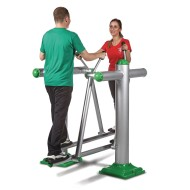 Outdoor Dual Air Walker Exercise Station