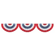 Jointed Patriotic Bunting Cutout