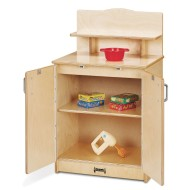 Jonti-Craft® Baltic Birch Culinary Creations Play Kitchen Cupboard