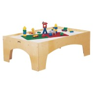 Brick Building Activity Table