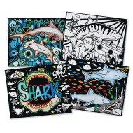Velvet Art Sharks! Posters (Pack of 12)