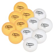 "S&S® Worldwide Jumbo 2.2"" Table Tennis Balls (Pack of 12)"