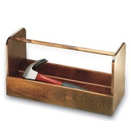 Wood Tool Box, Unfinished, Unassembled