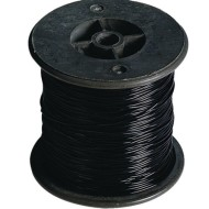 Black Stretchy Jewelry Cord, 100m (328') Spool