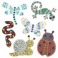 Mosaic Garden Buddies Craft Kit (Pack of 6)