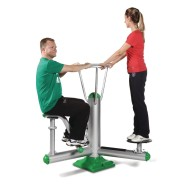 Oblique Outdoor Exercise Station