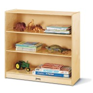Standard Fixed Straight Shelf Bookcase