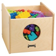 Jonti-Craft® See-n-Wheel Storage Bin