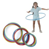 Spectrum™ Economy Candy-Striped Hoops,  (Pack of 12)
