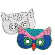 Owl Half Mask (Pack of 24)