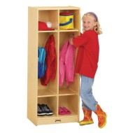 Jonti-Craft® Double Locker with 2 Sections, 20