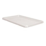 Clear Plastic Lid for Large Plastic Storage Tubs and Paper Storage Trays