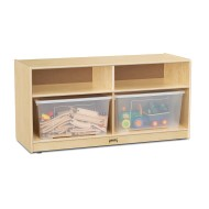 Jonti-Craft® Toddler Clear Totes Storage Units