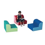 Library Soft Chairs Trio Set