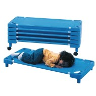 Children's Factory® Toddler Stacking Rest Cots