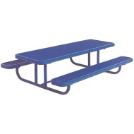 Kids Coated Steel Rectangular Picnic Table