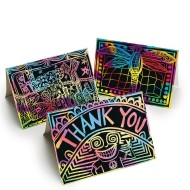 Scratch Artist® Greeting Cards (Pack of 50)