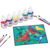Bird Sun Catcher Craft Kit (Pack of 12)