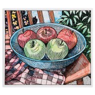 Paint Palette Craft Kit: Apple Still Life