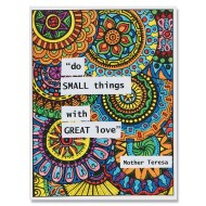 Mandala Quote Collages (Pack of 24)