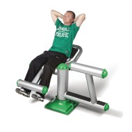 Abdominal Outdoor Exercise Station