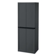 Sterilite® 4-Shelf Storage Cabinet
