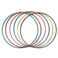 One-Piece Hoops (Set of 6)