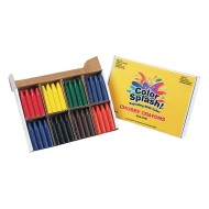 Color Splash!® Chubby Crayons PlusPack (Box of 96)