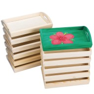 Wood Trays (Pack of 12)
