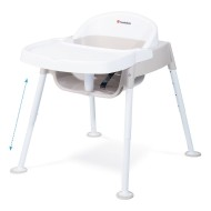 Foundations® Secure Sitter Premier™ Adjustable Height Feeding Chair