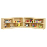 Jonti-Craft® Toddler Fold-n-Lock Storage Unit