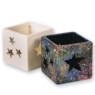 Color-Me™ Ceramic Bisque Star Votives (Pack of 12)