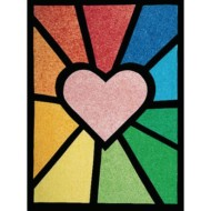 Colorlite Stained Glass Windows Craft Kit (Pack of 50)