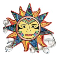 Velvet Aztec Sun Mobile Craft Kit (Pack of 24)