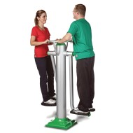 Dual Hip Outdoor Exercise Station