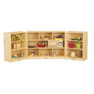 Jonti-Craft® Maxi-Mobile Fold-n-Lock Storage Unit