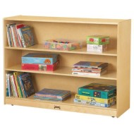 Jonti-Craft® Mobile Adjustable Bookcase