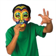 Paper Mache Mask (Pack of 12)