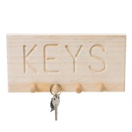 Unfinished Key Rack, Unassembled