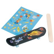 Mini Finger Skateboard Craft Kit