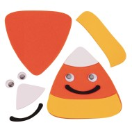 Candy Corn Magnet Craft Kit (Pack of 12)