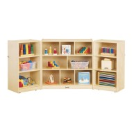 Jonti-Craft® Mobile Fold-N-Lock Storage Unit